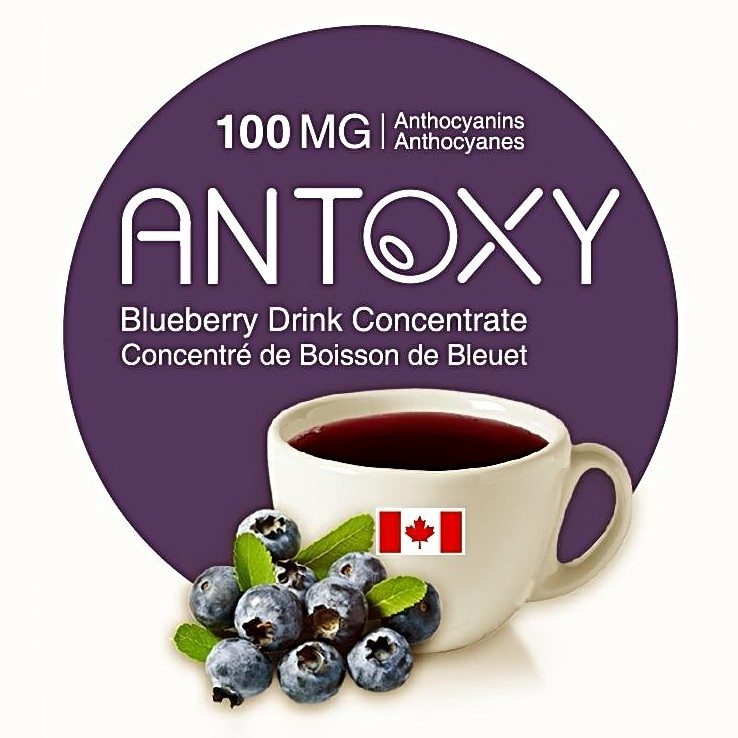 ANTOXY Blueberry Drink logo