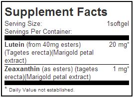 facts jarrow formulas lutein 20mg 60-softgels lotusmart hong kong