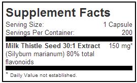 facts jarrow formulas milk thistle 200-capsules lotusmart hong kong