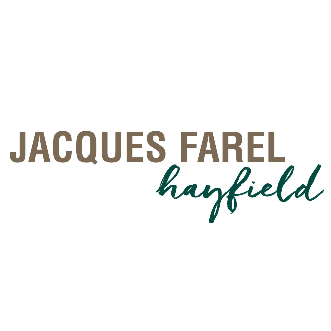 Jacques Farel Hayfield Logo