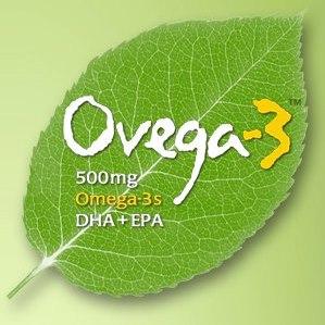 Ovega-3 Logo, Vegetarian Omega, LOTUSmart HK